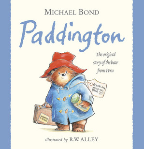 A Bear Called Paddington by Michael Bond, Illustrated by Peggy Fortnum - Book cover